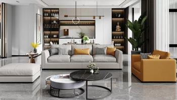 一字型、L字型、U字型....客厅沙发该如何摆放